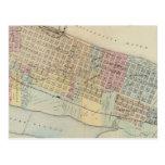 Mapa de Winona, Minnesota Postales