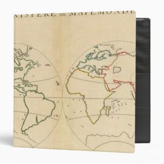 """Mapa de Worlp con 5 zonas Carpeta 1 1/2"""""""