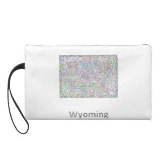 Mapa de Wyoming