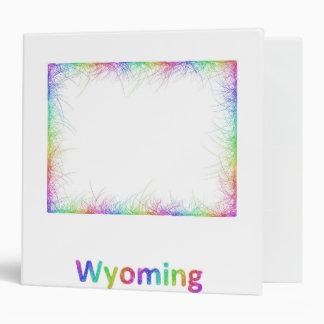 """Mapa de Wyoming del arco iris Carpeta 2"""""""