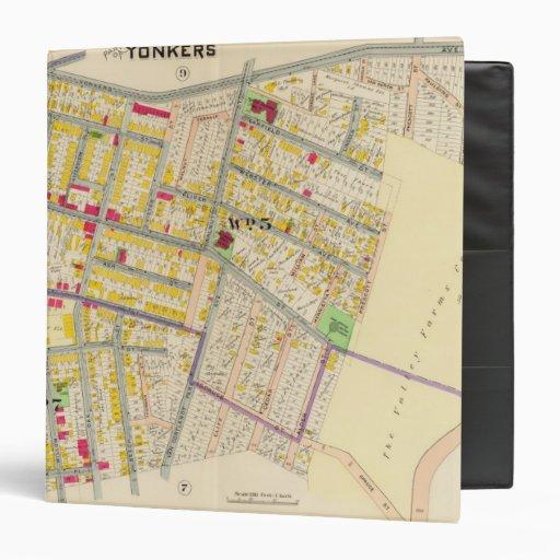 Mapa de Yonkers Nueva York