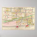 Mapa de Yonkers NY Impresiones