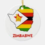 MAPA DE ZIMBABWE ADORNO PARA REYES