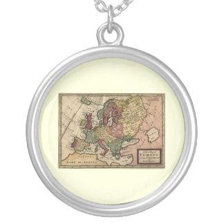 Mapa del anticuario 1721 de Europa del Moll de Colgante Redondo