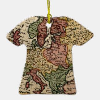 Mapa del anticuario 1721 de Europa del Moll de Adorno Para Reyes