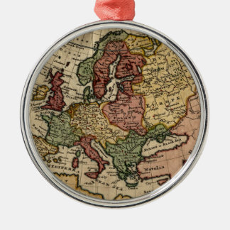 Mapa del anticuario 1721 de Europa del Moll de Ornamente De Reyes