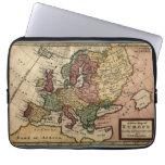 Mapa del anticuario 1721 de Europa del Moll de Her Funda Ordendadores