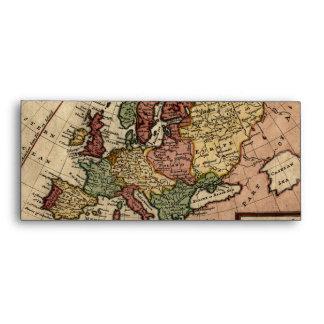 Mapa del anticuario 1721 de Europa del Moll de Her