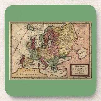 Mapa del anticuario 1721 de Europa del Moll de Posavaso