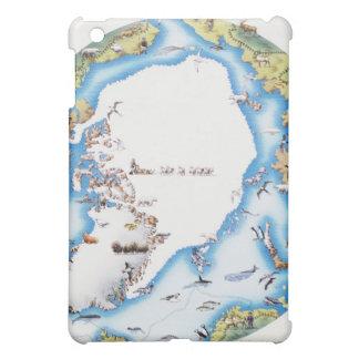 Mapa del ártico