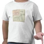 Mapa del asilo oceánico y justo, NJ Camisetas