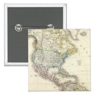 Mapa del atlas de América Pin