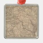 Mapa del atlas de Arkansas Adorno De Navidad