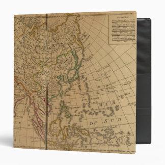 """Mapa del atlas de Asia Carpeta 1 1/2"""""""