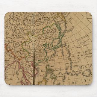 Mapa del atlas de Asia Tapete De Raton