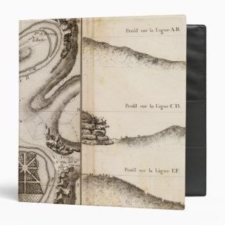 """Mapa del atlas de Charente del La Carpeta 1 1/2"""""""