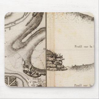 Mapa del atlas de Charente del La Mouse Pads