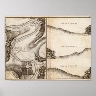 Mapa del atlas de Charente del La Póster