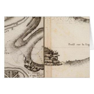Mapa del atlas de Charente del La Tarjeta De Felicitación
