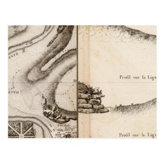Mapa del atlas de Charente del La Tarjetas Postales