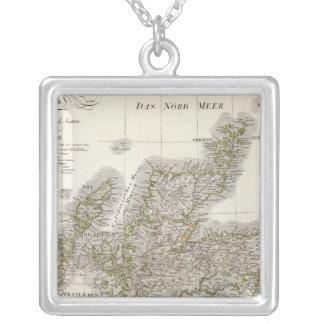 Mapa del atlas de Escocia Collares