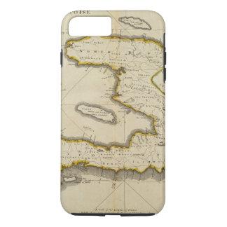 Mapa del atlas de Haití Funda iPhone 7 Plus
