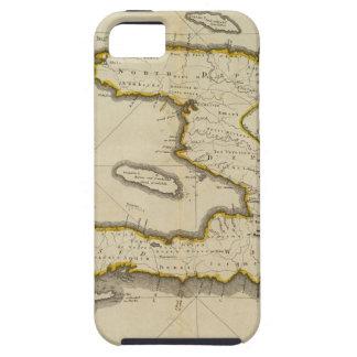 Mapa del atlas de Haití iPhone 5 Funda