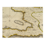 Mapa del atlas de Haití Postales