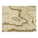 Mapa del atlas de Haití Tarjeta Postal