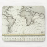 mapa del atlas de la Marea-onda Mousepad