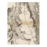 Mapa del atlas de la meseta de St Pierre Postal