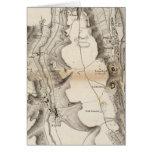 Mapa del atlas de la meseta de St Pierre Tarjeta