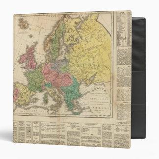 "Mapa del atlas de la religión de Europa Carpeta 1 1/2"""