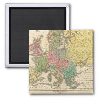 Mapa del atlas de la religión de Europa Imán Para Frigorifico