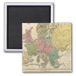 Mapa del atlas de la religión de Europa Imán Cuadrado