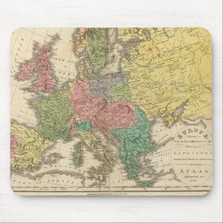 Mapa del atlas de la religión de Europa Mousepads