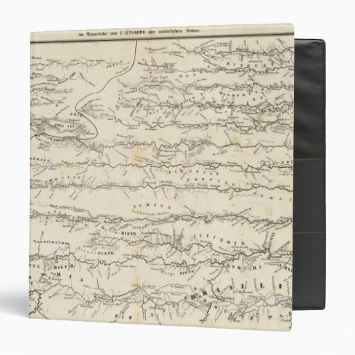 """Mapa del atlas de los ríos carpeta 1 1/2"""""""