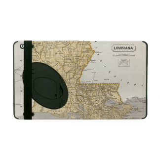 Mapa del atlas de Luisiana