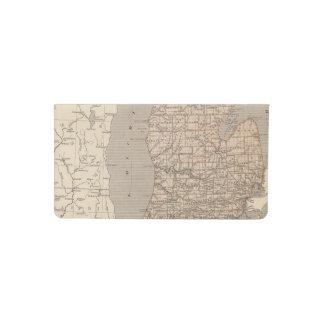 Mapa del atlas de Michigan