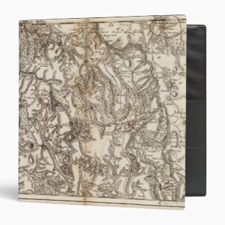 Mapa del atlas de Morvan