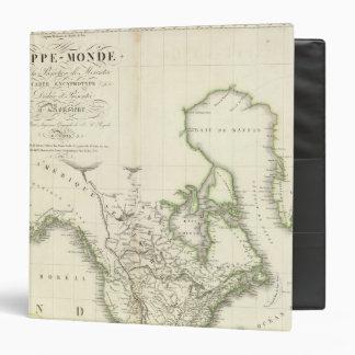 """Mapa del atlas de Norteamérica Carpeta 1 1/2"""""""