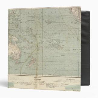 Mapa del atlas de Oceanía