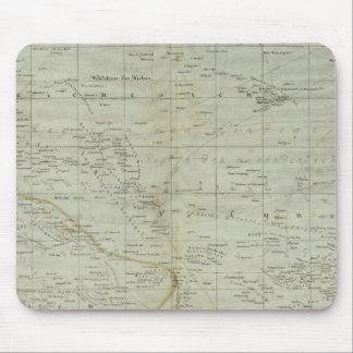 Mapa del atlas de Oceanía Alfombrilla De Ratón