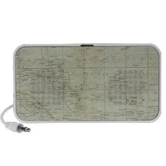 Mapa del atlas de Oceanía Altavoces De Viajar