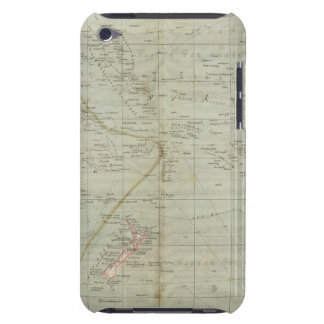 Mapa del atlas de Oceanía iPod Case-Mate Cárcasas