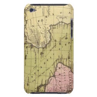 Mapa del atlas de Océano Atlántico iPod Touch Case-Mate Fundas