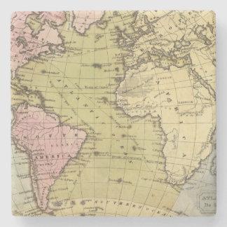 Mapa del atlas de Océano Atlántico Posavasos De Piedra
