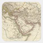 Mapa del atlas de París Colcomanias Cuadradass