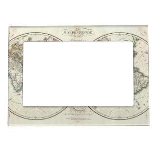 Mapa del atlas de París Marcos Magneticos Para Fotos