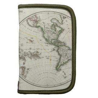 Mapa del atlas de París Organizadores